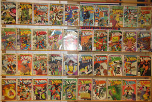 The Uncanny X-Men (1963, 1st series) from #144 to #300, comics
