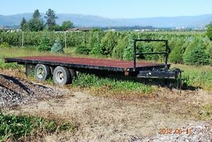 Tandem Trailer with duals