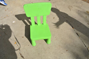 Children's chair from IKEA