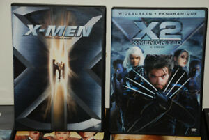 2 x DVD Movie X MEN - 1,2