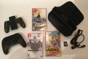 Arms, Manette Pro Control, Payday 2..et plus de Switch