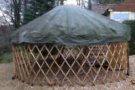18ft traditional mongolian yurt, wool lining