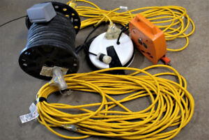 Extension cords, cord reel