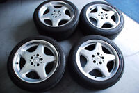 4 AMG RIMS FOR SALE PERFECT FOR MERCEDES WINTER TIRES