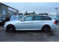 2007 BMW E91 3 SERIES 325I M SPORT TOURING 5 DOOR ESTATE 2.5 PETROL AUTO SILVER