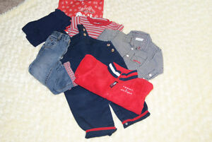 8 PCE Baby Boys Tommy Hilfiger, Mexx, Grouping Size 12-18 Months