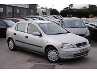 1999 (V) Vauxhall Astra 1.4 Petrol Manual 5 Door Hatchback Silver