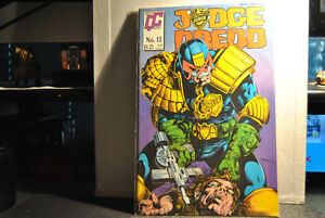JUDGE DREDD (FLEETWAY QUALITY COMICS) (1986 Series) #13