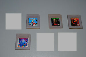 Nintendo Game Boy Games, Tetris, Mortal Kombat, Paperboy... Cambridge Kitchener Area image 1
