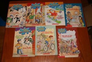 seven books - older children - James Preller - great shape