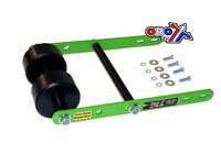 New Tag Z Twin Roller Wheelie Bar Raptor 660 KFX/LTZ 400 LTR 450 Green ATV