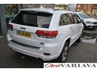2014 Jeep Grand Cherokee 3.0 CRD Overland 5dr Auto Diesel white Automatic
