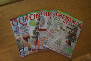Christmas Ideas Magazines x 5