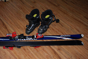 Downhill Boots and Skis For Sale