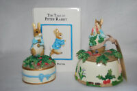 The World Of Beatrix Potter, Book Bank and Two Musical Figures