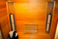 Two Person Infrared SaunaRay Sauna for Sale