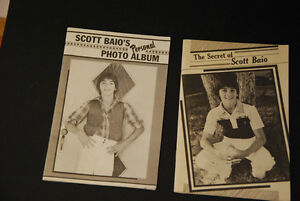 2 old vintage SCOTT BAIO Tiger Beat booklets  Rare find Edmonton Edmonton Area image 1