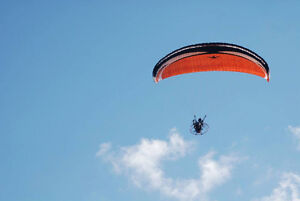 Paraglider windtech kinetik 30m for paramotor paramoteur only