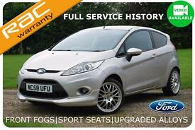 2009 Ford Fiesta 1.6 Zetec S 3 Door |Full Service History|Eye Catcher
