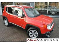 2015 Jeep Renegade M-JET LIMITED ** TOP OF THE RANGE LIMITED MODEL ** Diesel red
