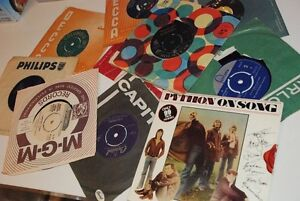 Records Music Collection VINTAGE England from 1957, Wholesale