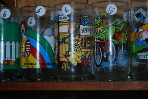 Several Collector Glasses Vintage Movie Cartoon Bar Beer Glass Windsor Region Ontario image 7