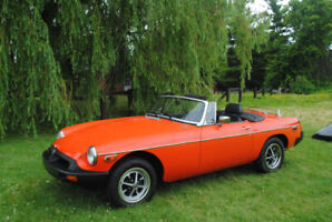 1979 MGB - Well Maintained Original