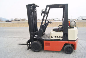CHARIOT ELEVATEUR,FORKLIFT,S\S,PROP,CUSHION, NISSAN  CPH02A20PV
