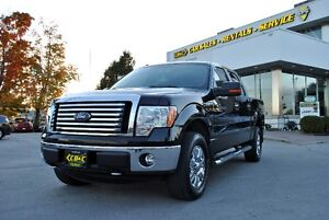 2012 Ford F-150 SUPER CREW- 6 SEATER - XLT - XTR 4X4 - LEATHER