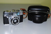 Vintage Agfa Agfamatic Ia 35mm Film Camera with Case