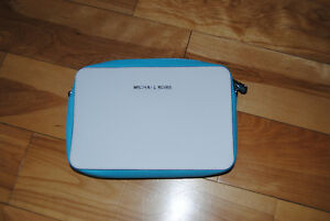 Never Used Michael Kors Turquoise and White Purse