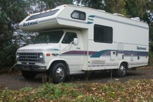93 ROCKWOOD-Frontier 22ft C class  GM30  shassis- 350engine