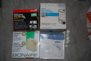 Honeywell and Bionaire Air Filters/Cartridges