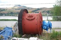 5' x 4' Marcy Ball Mill