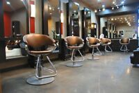 chair rental or comission position for licensed hair stylist