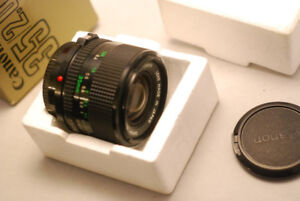 New Canon 35 2 FD manual lens for sale