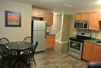 2 BDRM Fully Furnished Suite ALL Utilities Included