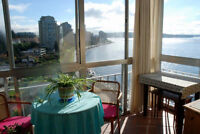 Furnished Seaside Condo - Sweeping Ocean Views in West Van #684