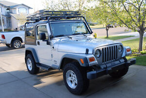 2005 Jeep TJ Sport - Great shape! Includes soft and hard top.