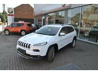 2016 Jeep Cherokee MULTIJET II LIMITED ** 9 SPEED AUTO 4X4** Diesel white Automa