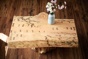 Live edge Fir table