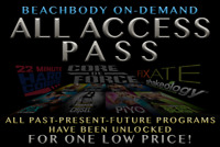 ALL ACCESS BEACHBODY ON DEMAND MEMBERSHIP NOW AVAILABLE!