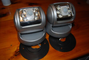 Indoor/Outdoor lighting  2 Motion lights battery operated