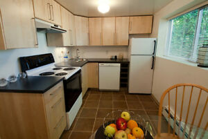 Furnished 2-bedroom suite in Kitsilano, perfect for UBC