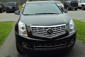 2015 Cadillac SRX 4  black leather SUV, Crossover