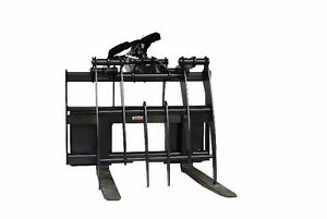 Jenkins HEAVY DUTY Pallet Forks Grapple Skidsteer Attachment Sarnia Sarnia Area image 2