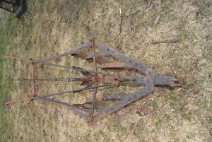 Antique plow - great piece of outdoor decor West Island Greater Montréal image 4