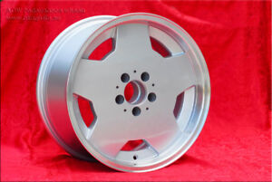 2 alloy wheels AMG Aero 9x17 ET0 5x112 Mercedes
