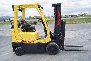Forklift,cushion,sideshift,propan, HYSTER S50FT