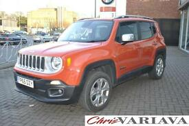 2015 Jeep Renegade 2.0 Multijet Limited 5dr 4WD ** 4X4 + FULL LEATHER + SAT NAV
